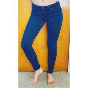Levi's 535 Legging Dark Blue Skinny Jeans